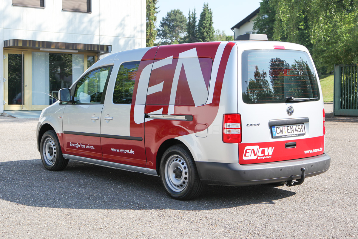 Fahrzeugbeschriftung ENCW