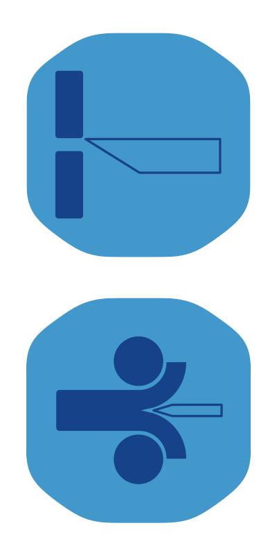 Werbetechnik Piktogramme