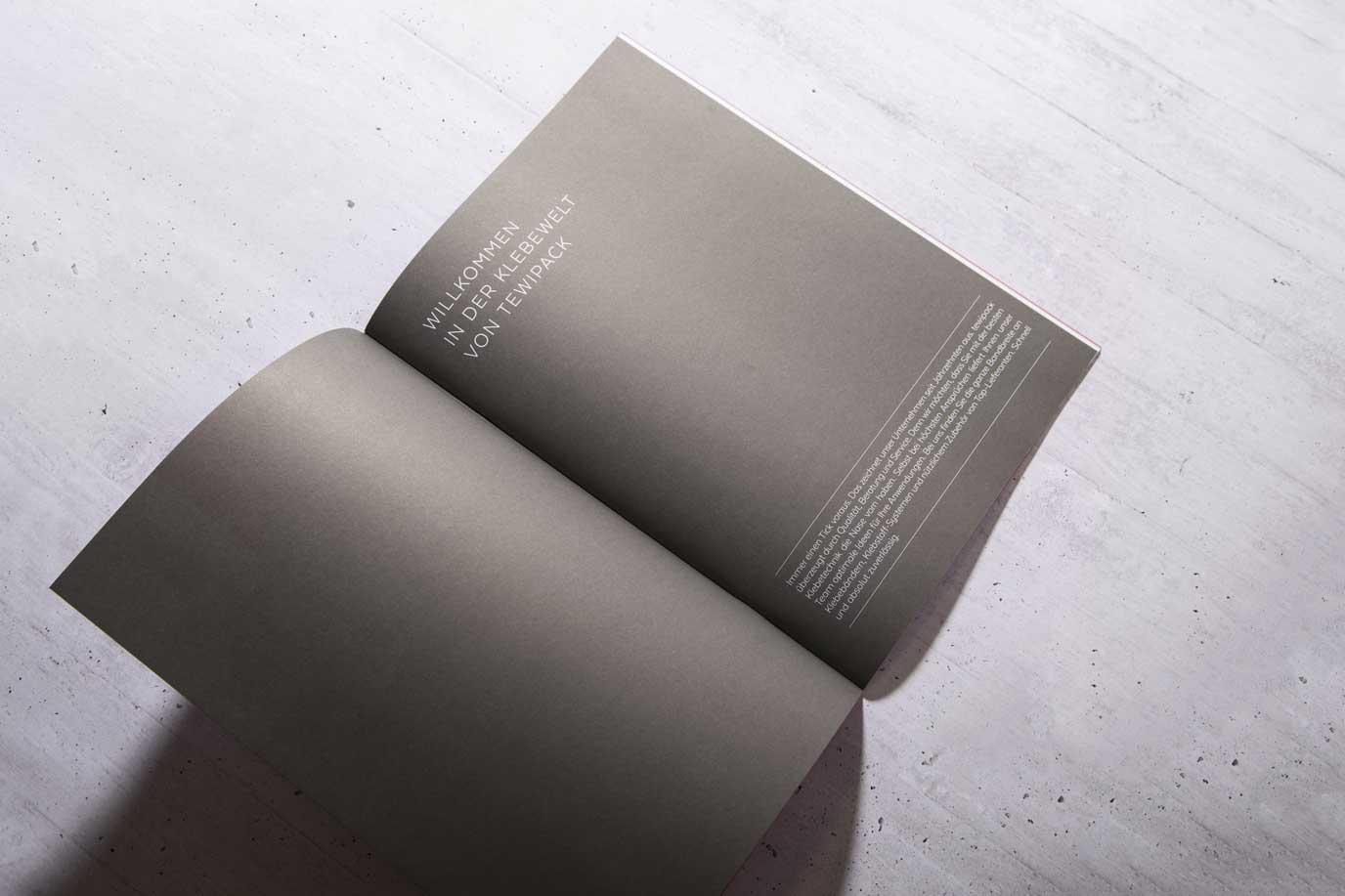 Broschüre Tewipack