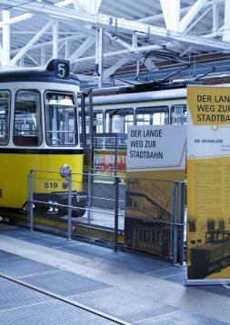 Straßenbahnmuseum Ausstellungstafeln – SSB